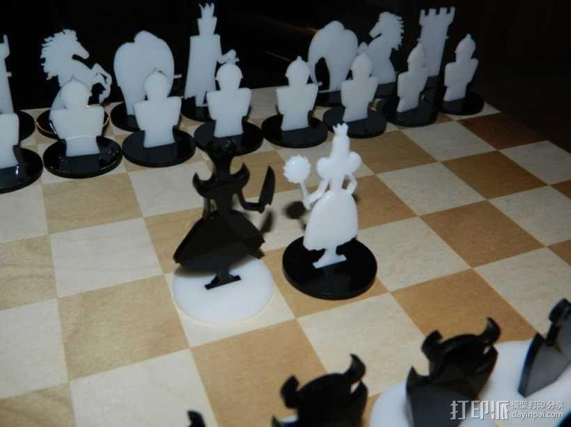 经典黑白象棋 3D模型  图3