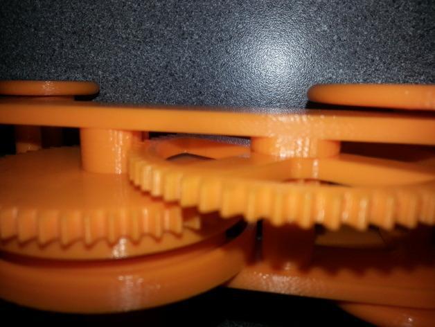 PLA发条传动装置 3D模型  图3