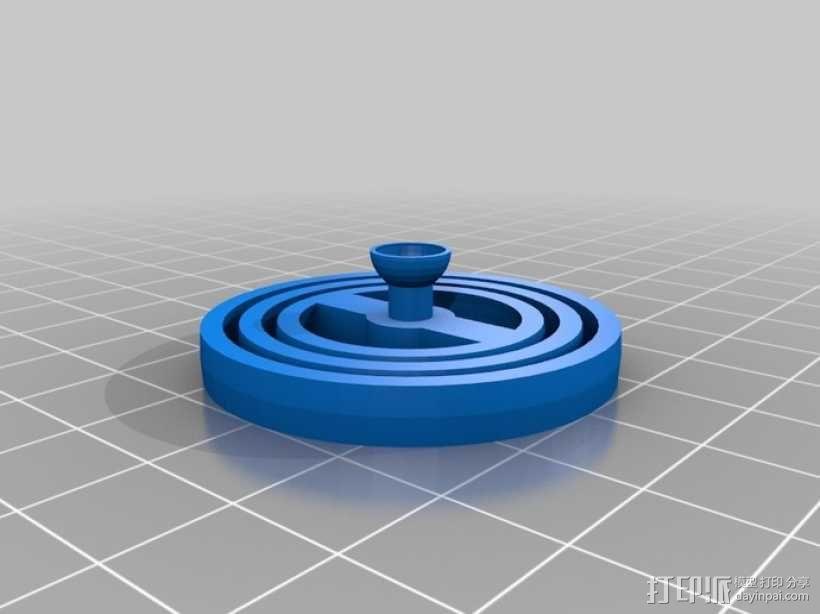 平衡环 3D模型  图2