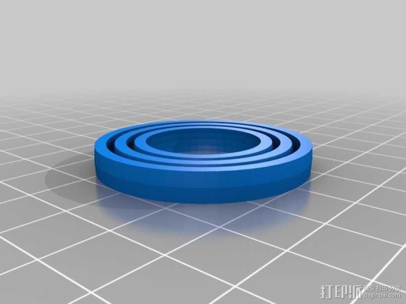 平衡环 3D模型  图3