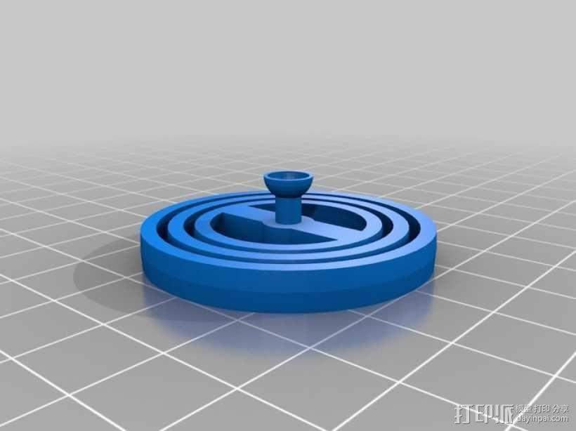 平衡环 3D模型  图4