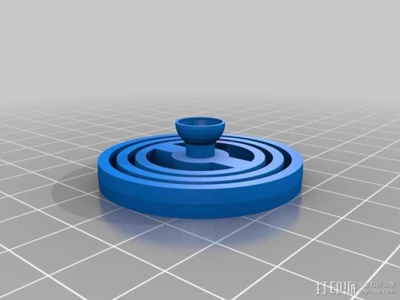 平衡环 3D模型  图6