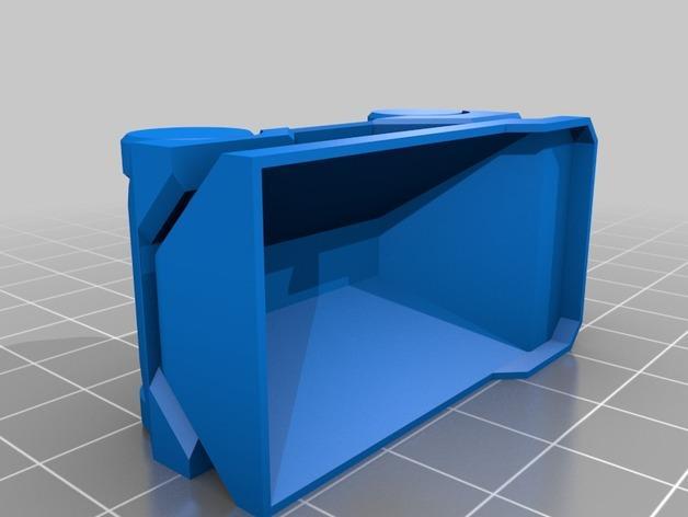 自动倾卸卡车 3D模型  图2