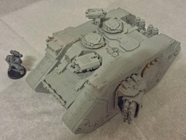游戏坦克 3D模型  图1