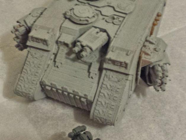 游戏坦克 3D模型  图3