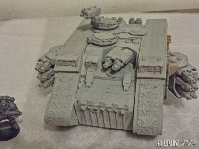 游戏坦克 3D模型  图2