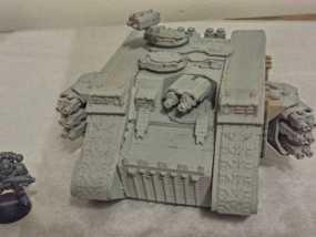 游戏坦克 3D模型
