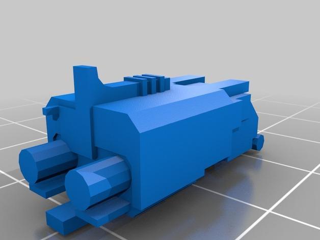 游戏坦克 3D模型  图24