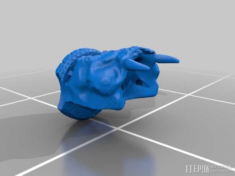 骷髅头城堡 3D模型  图9
