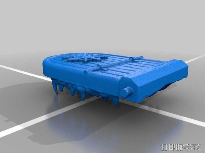 骷髅头城堡 3D模型  图13