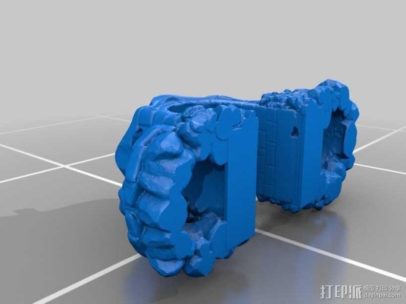 骷髅头城堡 3D模型  图14