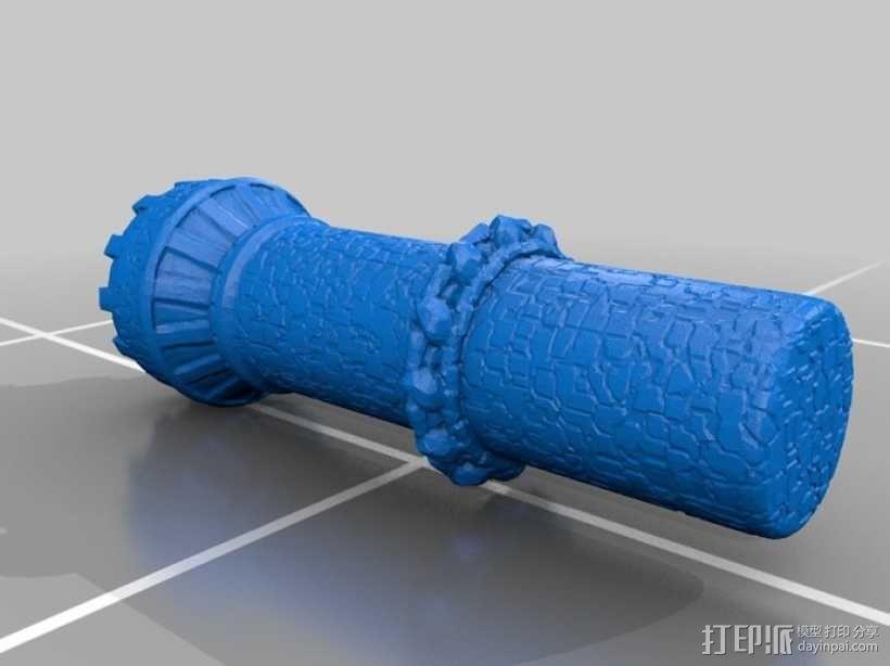 骷髅头城堡 3D模型  图15
