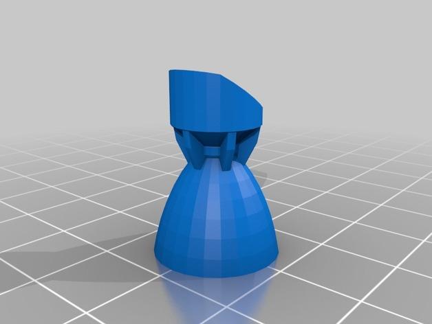 战争游戏中空投舱中的火箭 3D模型  图2