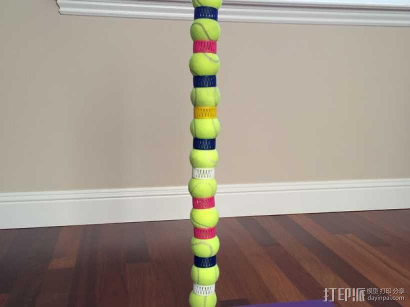 网球叠加玩具 3D模型  图1