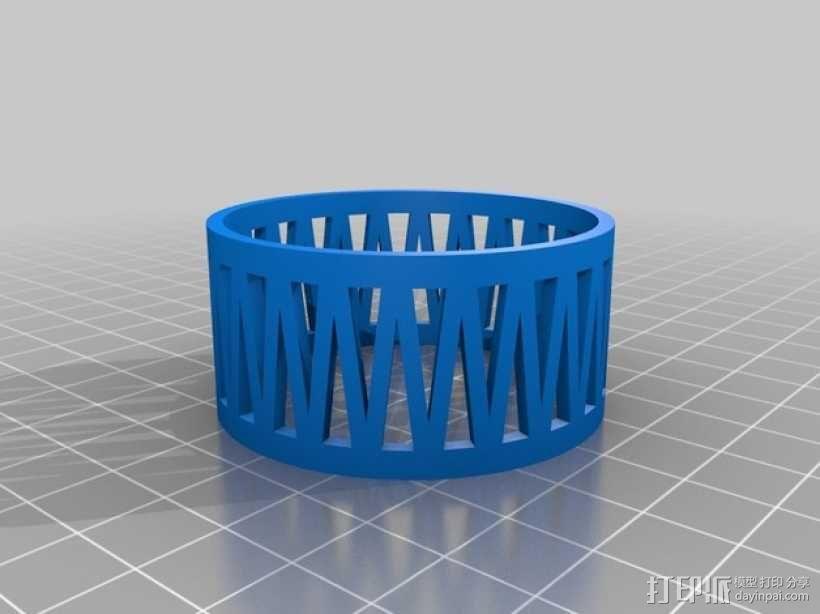 网球叠加玩具 3D模型  图3