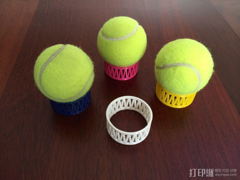网球叠加玩具 3D模型  图2