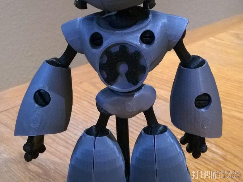 机器人马克 3D模型  图1