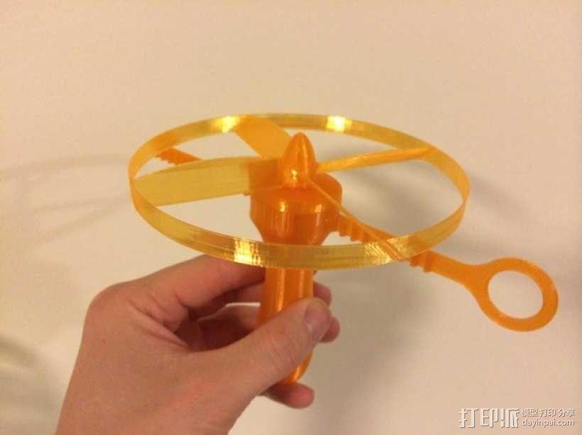 螺旋发射器 3D模型  图1