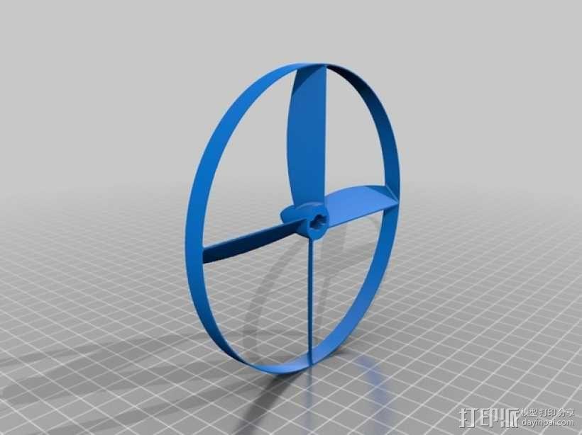 螺旋发射器 3D模型  图3