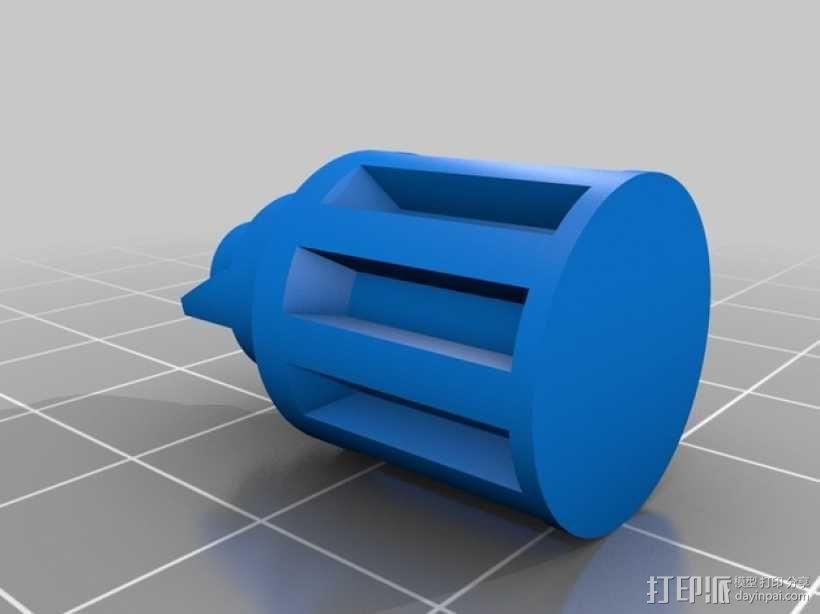螺旋发射器 3D模型  图6