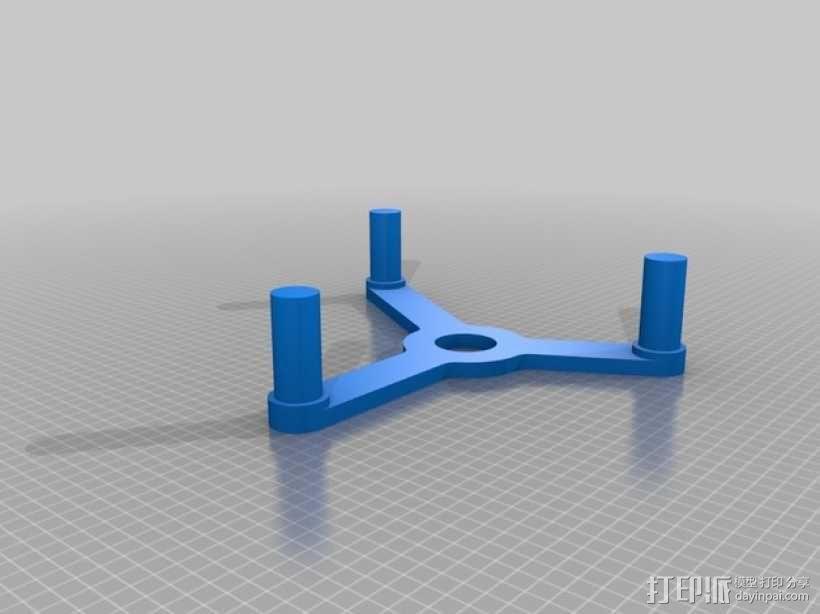 桌面式齿轮装置 3D模型  图5