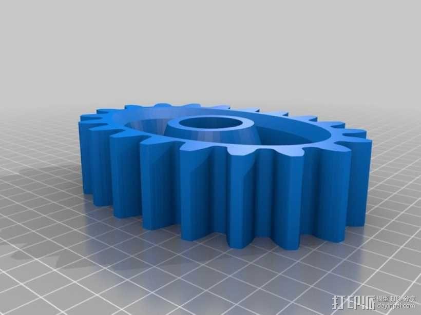 桌面式齿轮装置 3D模型  图8