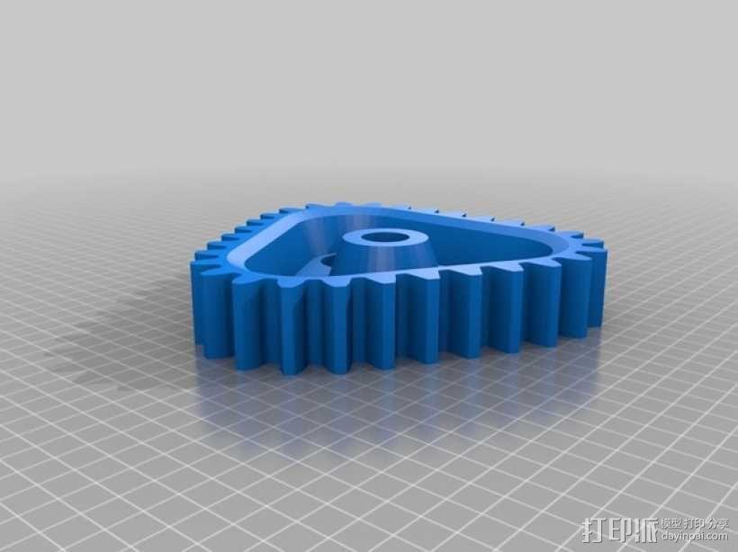 桌面式齿轮装置 3D模型  图10