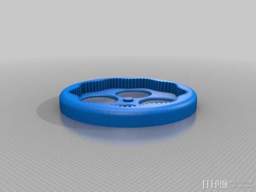 桌面式齿轮装置 3D模型  图12