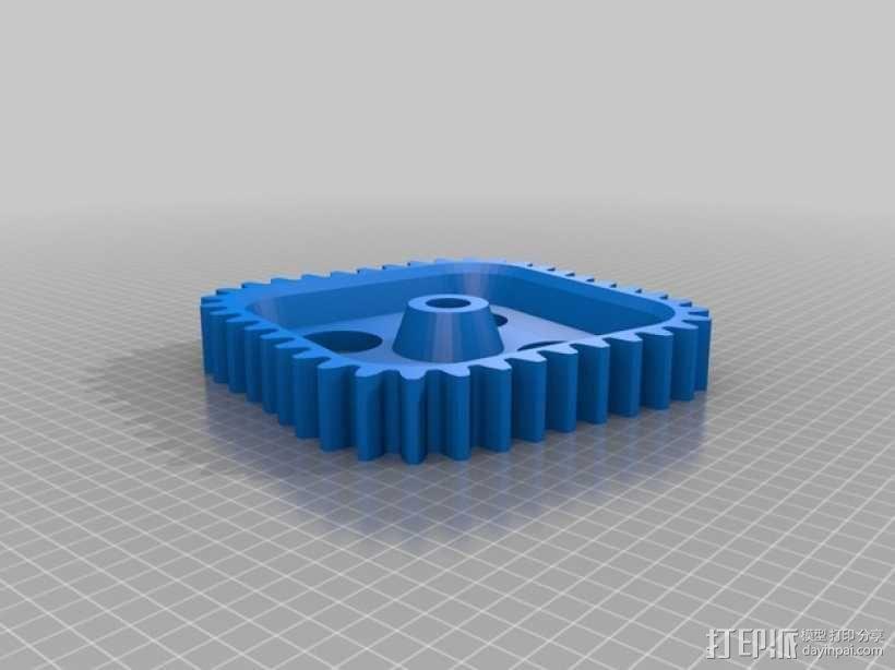 桌面式齿轮装置 3D模型  图11