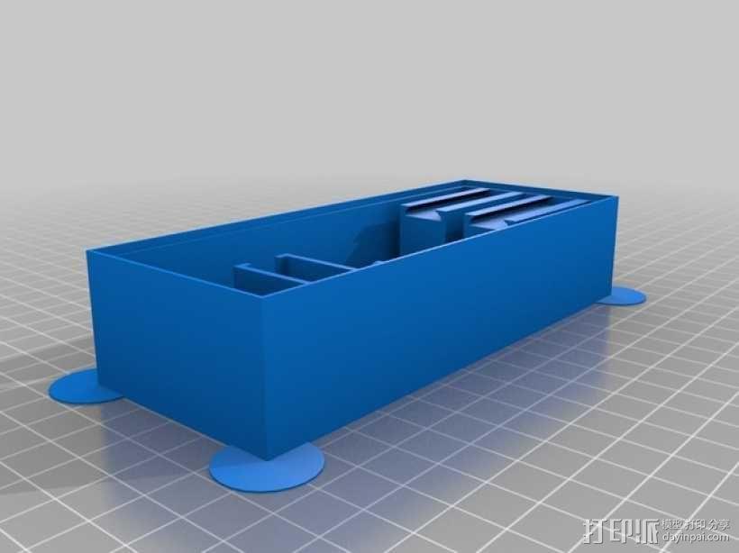 人力驱动装置 3D模型  图2