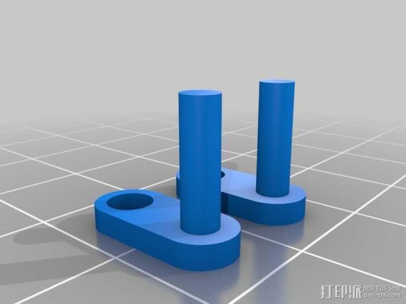 人力驱动装置 3D模型  图4