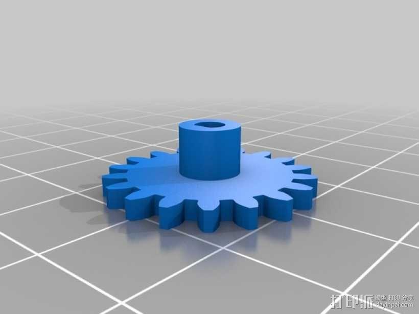 人力驱动装置 3D模型  图6