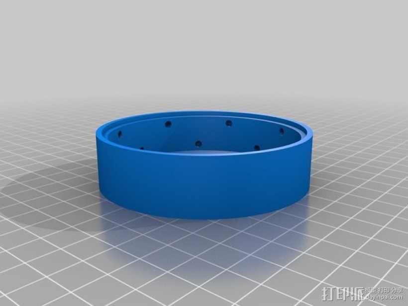 人力驱动装置 3D模型  图13