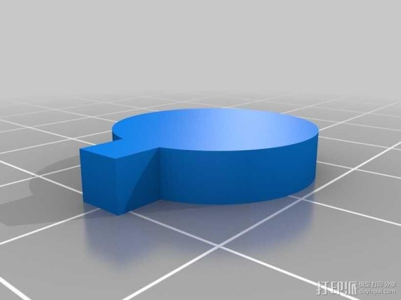 人力驱动装置 3D模型  图15