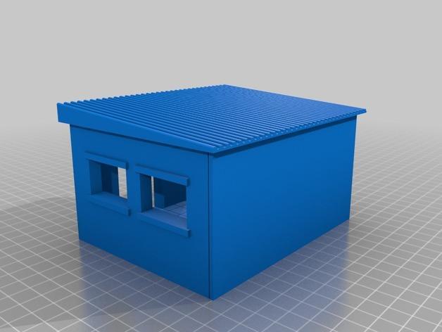 套嵌式建筑结构 3D模型  图5