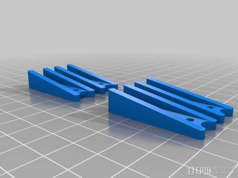 五星形发动机 3D模型  图7
