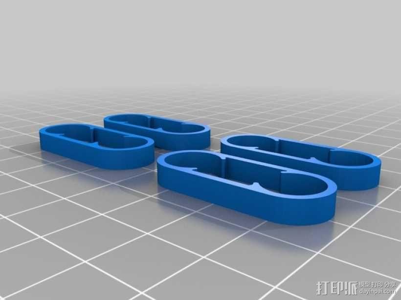 五星形发动机 3D模型  图8