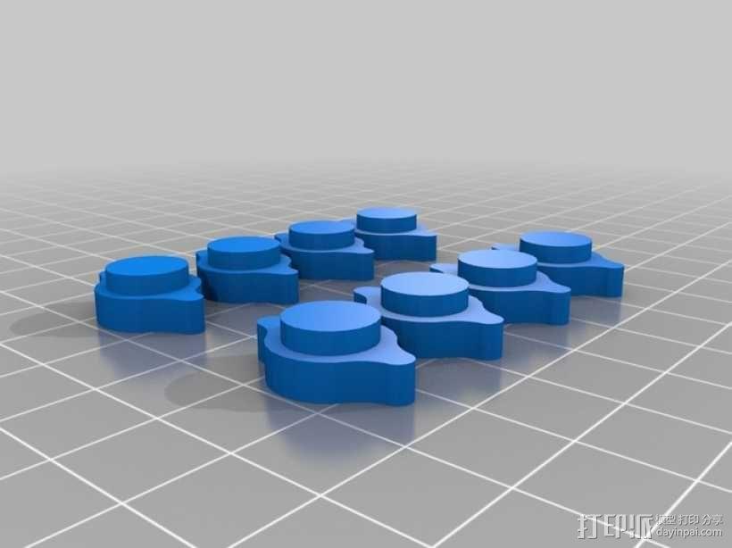 五星形发动机 3D模型  图9