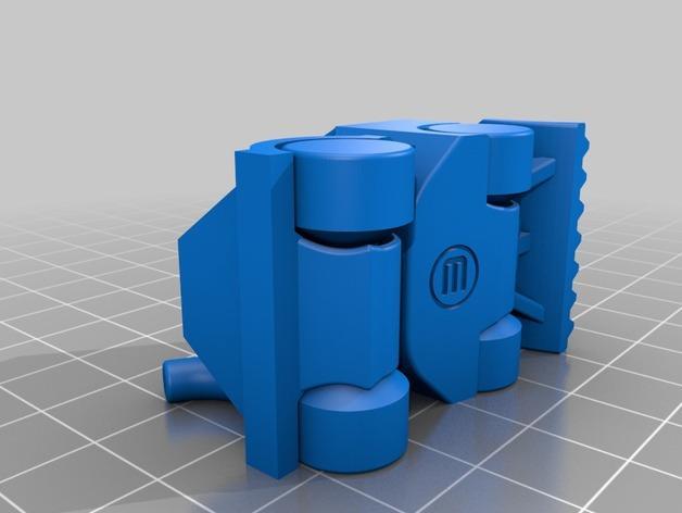 单斗装载机 3D模型  图2