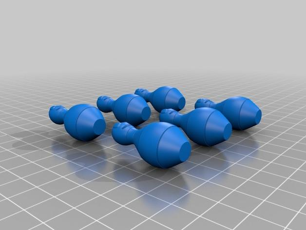 迷你保龄球游戏 3D模型  图2