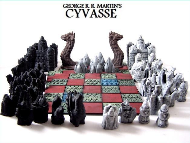 锡瓦斯棋 3D模型  图1