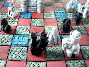 锡瓦斯棋 3D模型