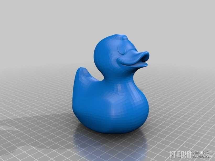 大黄鸭 3D模型  图1