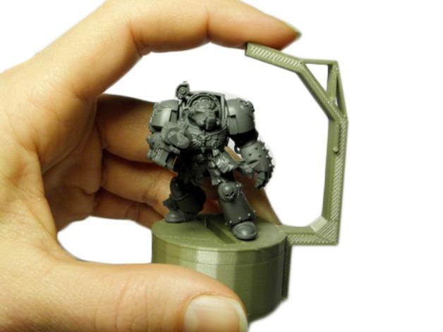 微型固定器 3D模型  图1