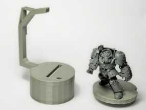 微型固定器 3D模型