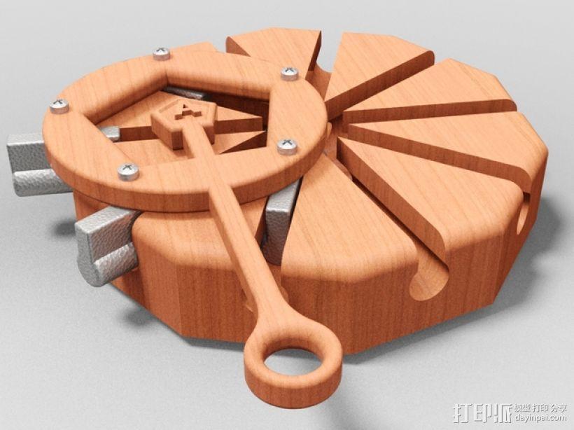 阿基米德梁规 3D模型  图1