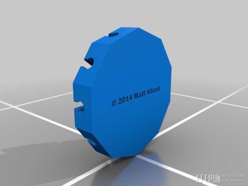 阿基米德梁规 3D模型  图3