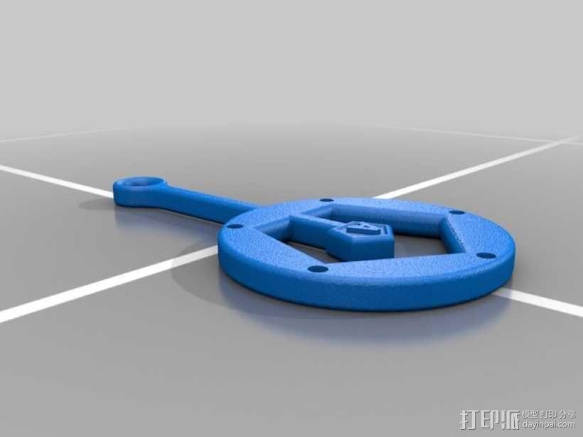 阿基米德梁规 3D模型  图4