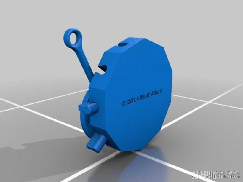 阿基米德梁规 3D模型  图6