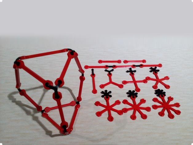 建筑模型工具包 3D模型  图1